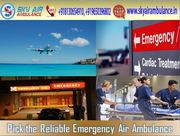 Rent Air Ambulance in Delhi with Certified Medical team