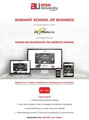 BBA Course in India - Sushant School Of Business