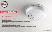 A prior alertness to fire with a smoke detector
