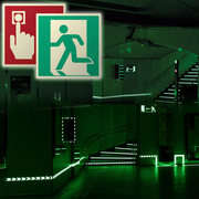 photoluminescent safety signs manufacturers & supplier