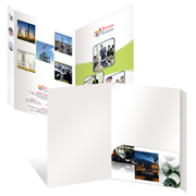 Custom Presentation Pocket Folders-Online Presentation Folder Printing