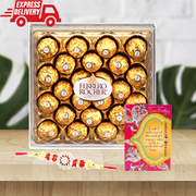 Send Rakhi Gifts Chocolate Sweets to New Delhi Free