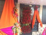 Janmashtami Decoration Ideas at Home - Arun Flower & Balloon Decorator
