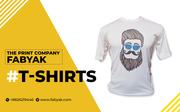 10% OFF on Fabyak T-Shirts | Printing  T-Shirts Online Shopping
