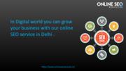 SEO Services Provider - SEO Services