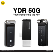 YDME50 RF Card And Pin Code Lock | Yale