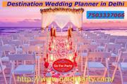 Marvelous Destination Wedding Planner in Delhi