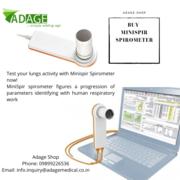 Buy Minispir Spirometers to solve lung disease