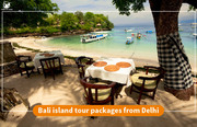 Shoes on loose: Bali island tour packages from Delhi