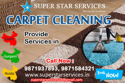 Get best quality carpets cleaning services by Superstar Services