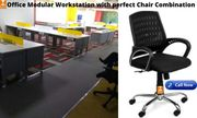 Office Modular Workstation with Perfect Chair combination