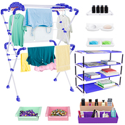 TRENDY Sumo Cloth Drying Stand Combo
