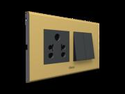 Simon Metallic Style Switches