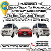 Delhi To Chandigarh One Way Cab Service On Best Price.