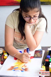 modern art painting classes in model town
