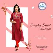 Shop stylish Rajasthani Kurti Online
