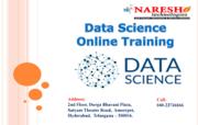 Best -Data Science- Online Training – Naresh I Technologies
