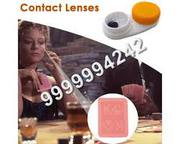 contact lens playing cards