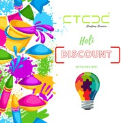 Join CTCDC - Avail Special Holi Discount