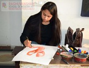 painting institute by raghuvansham school of modern art