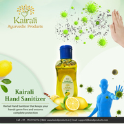 Protection on the Go with Kairali Hand Sanitizer