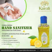 Kairali Hand Sanitizer – protects you from communicable diseases
