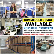 Showroom Retail Space Corporate Office for Rent Lease in New Delhi