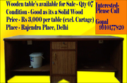 Wooden Workstation for SALE on Exotic Price