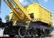 The railway crane KZH-561 25 tons