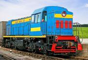 Diesel locomotive TGM-4B shunting
