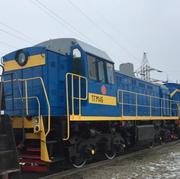 Diesel locomotive shunting. TGM-4B
