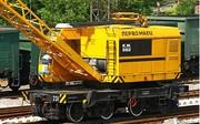 Crane railway KZh-562. 25 tons.