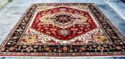 hand knotted carpet manufacturers India