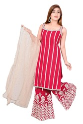 Ladies Palazzo Suits Suppliers in Delhi,  India