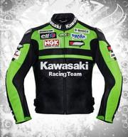 kawasaki leather motorcycle jacket