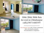 3bhk 2bhk 1bhk flat for rent in chattarpur mandir1rk 1bhk 2bhk 3bhk 4b
