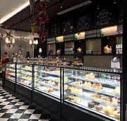 New Design Cake Pastry Display Counter Manufacturers in all India