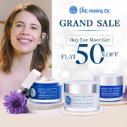 Grab 50% Off on The Moms Co. Grand Sale on purchases of two or more