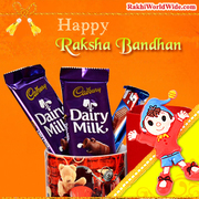 Buy Rakhi & Chocolates Online at the Lowest Prices & Get Delivery