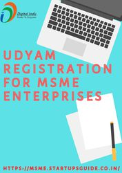 Service for new udyam registration in India