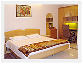 Studio, one, two & three bedroom serviced apartment.
